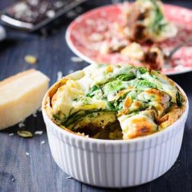 Spinach Pecorino Bake