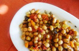 Baked Ikarian Chickpeas