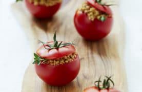Barley Stuffed Tomatoes