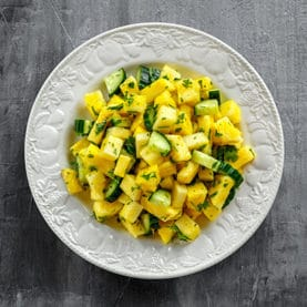 Pineapple Cucumber Salad