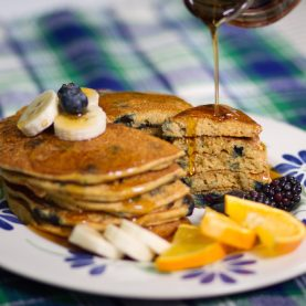 Blueberry Corncakes